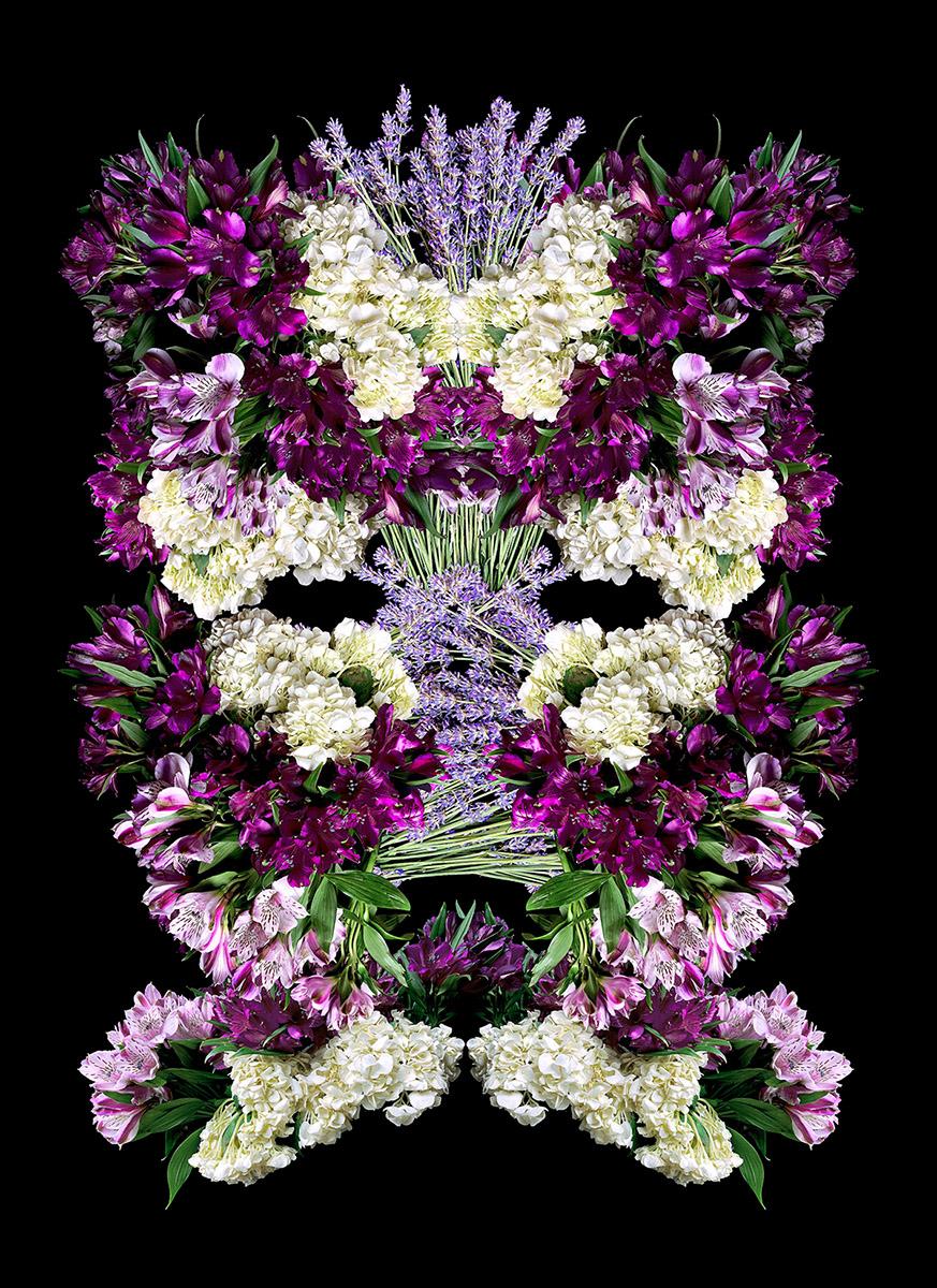 heidi carlsen rogers power mask flowers empowerment beauty floral