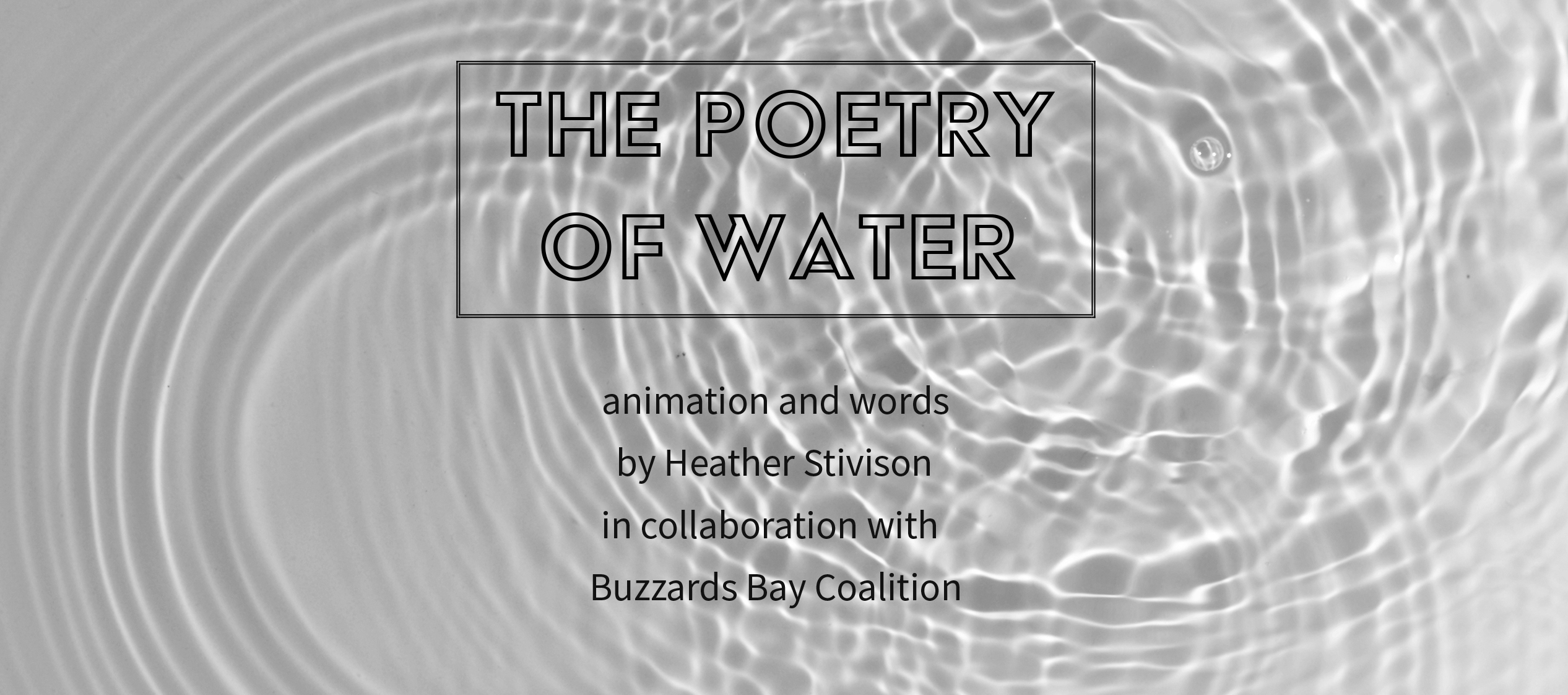 poetry of water
