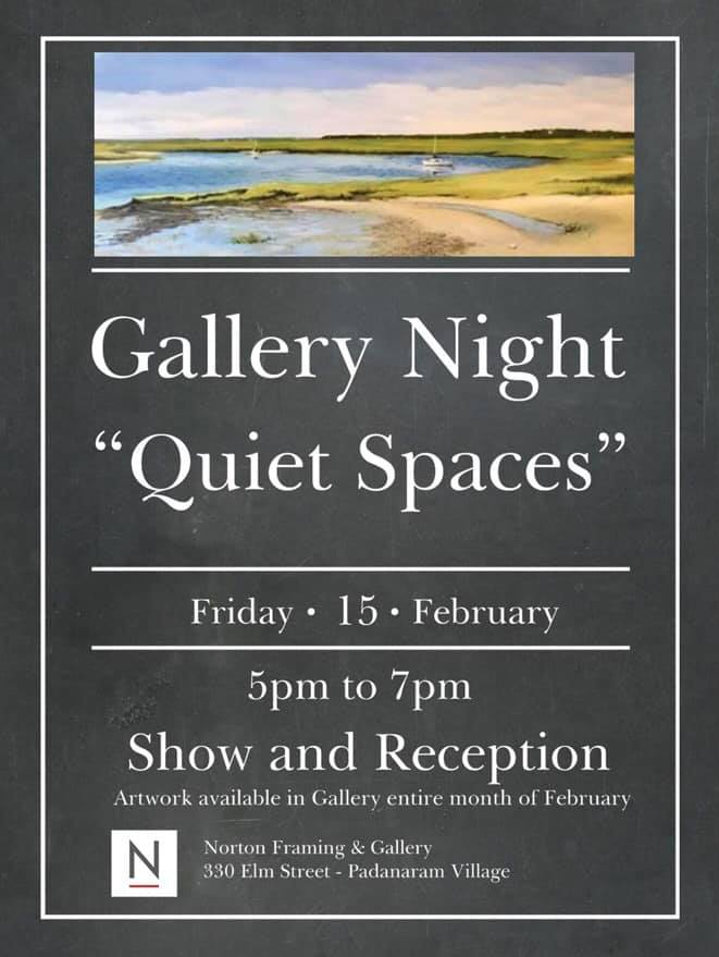 quiet spaces poster