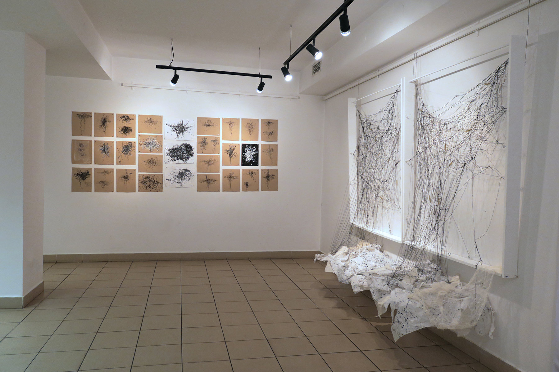 Kathryn Hart, Daunting Transitions Solo Show, Krakow 2018