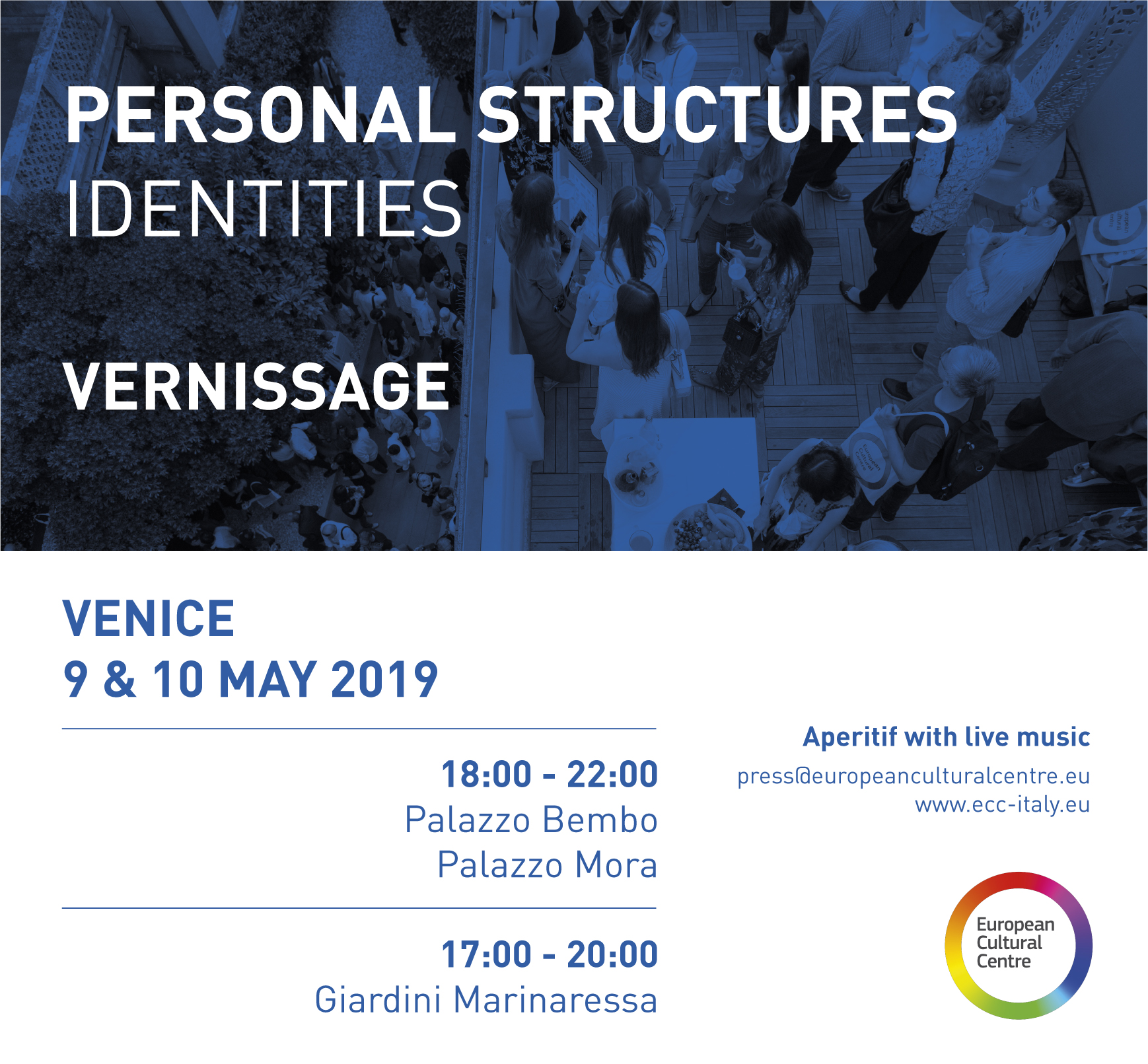 Kathryn Hart, Personal Structures, European Cultural Centre, 58th Venice Biennale
