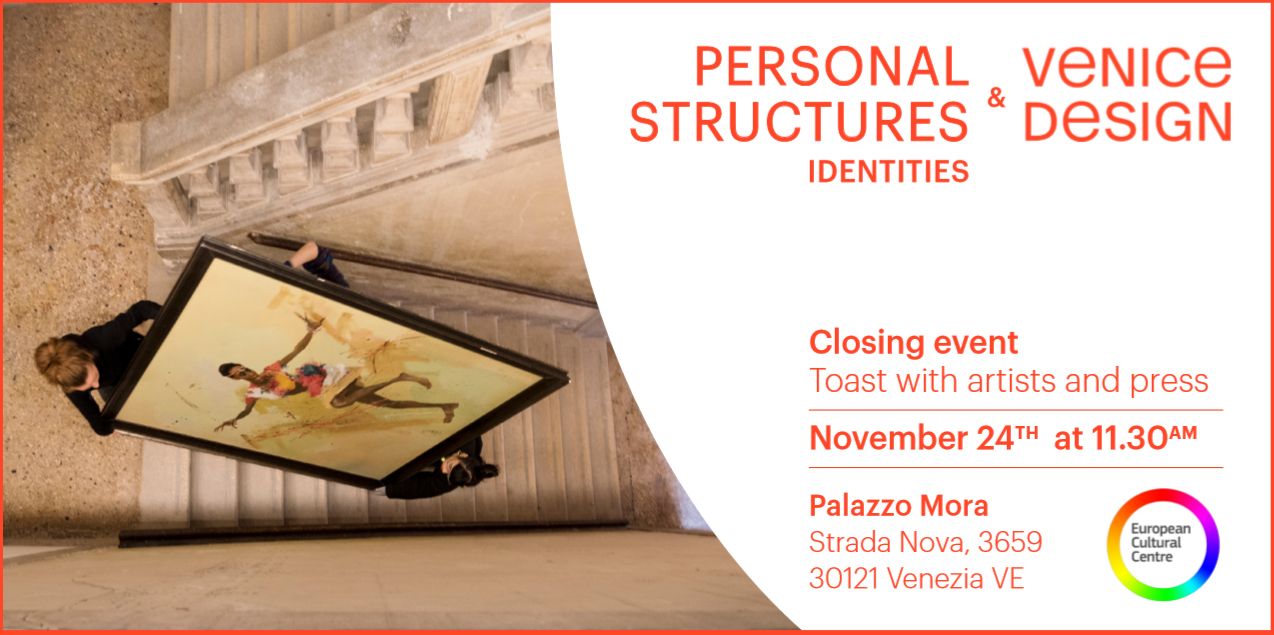 Kathryn Hart, Closing Reception, Personal Structures - Identities, Palazzo Mora, 58th Venice Biennale