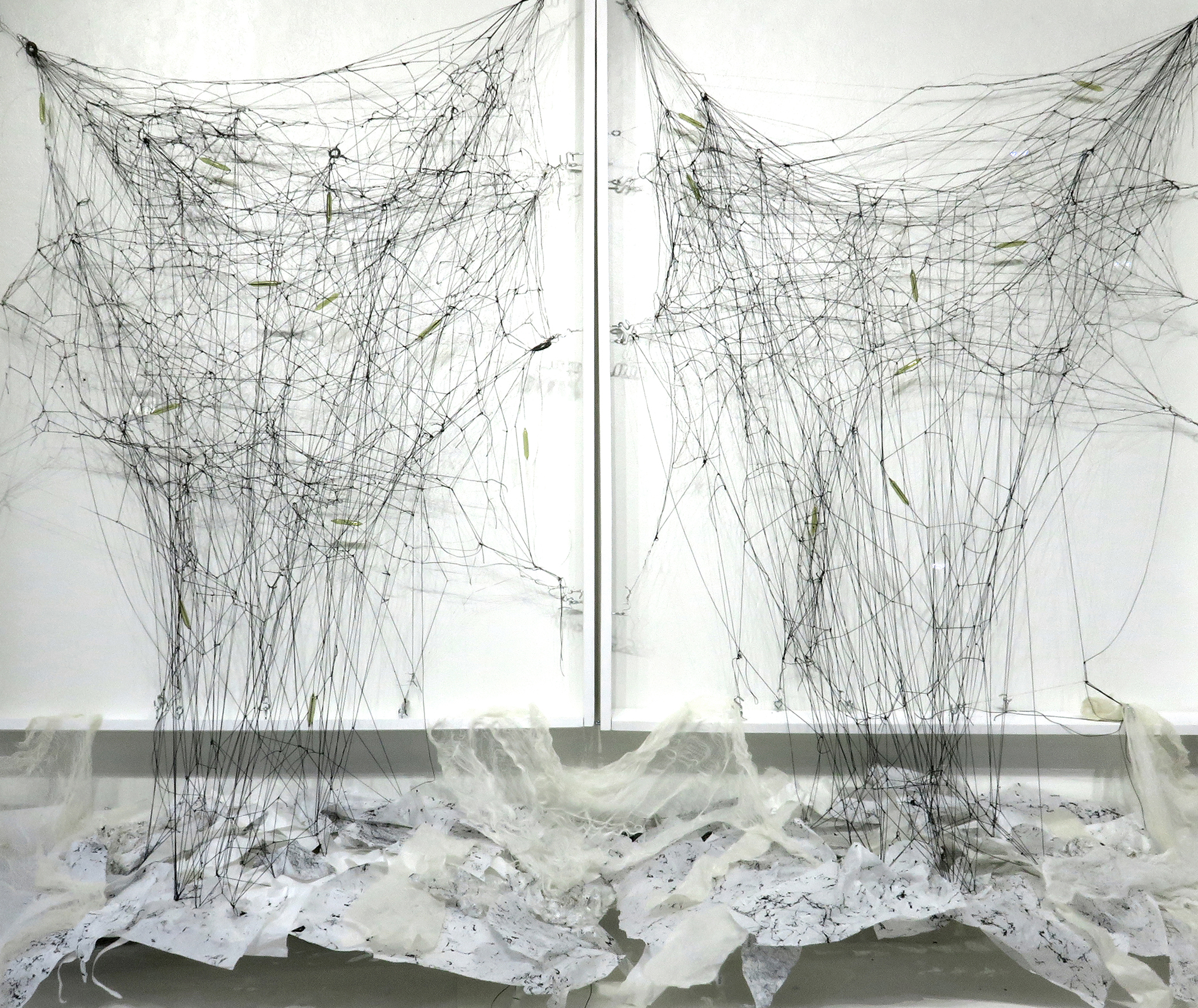 Kathryn Hart, Daunting Transitions, site-specific installation