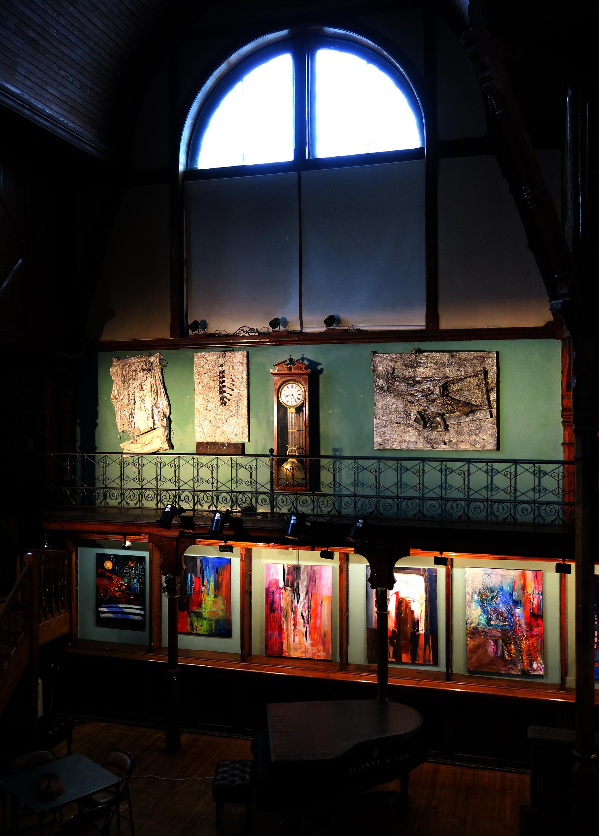 Metamorphosis, Howland Cultural Center June 2017, Kathryn Hart