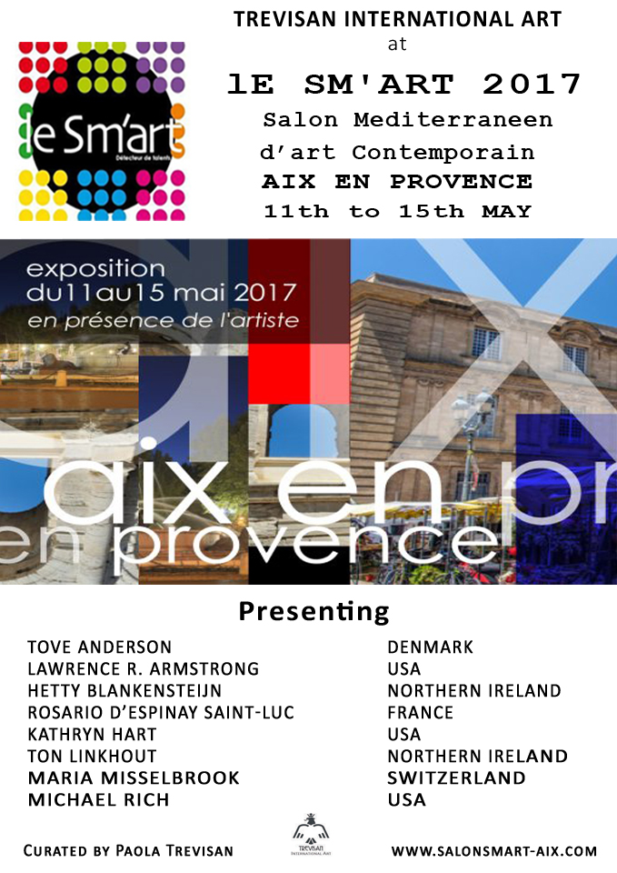 le Sm'ART 2017, Aix-en-Provence with Kathryn Hart