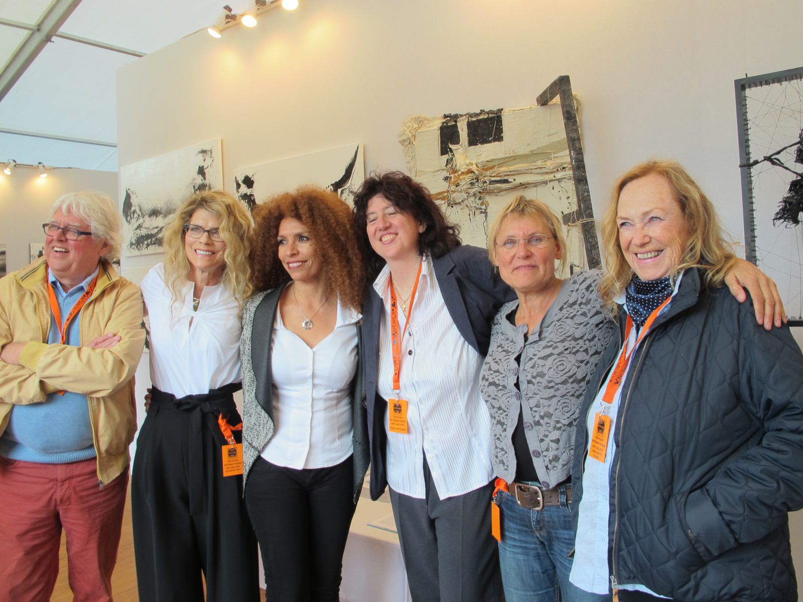 le Sm'ART with Kathryn Hart and Trevisan International Art