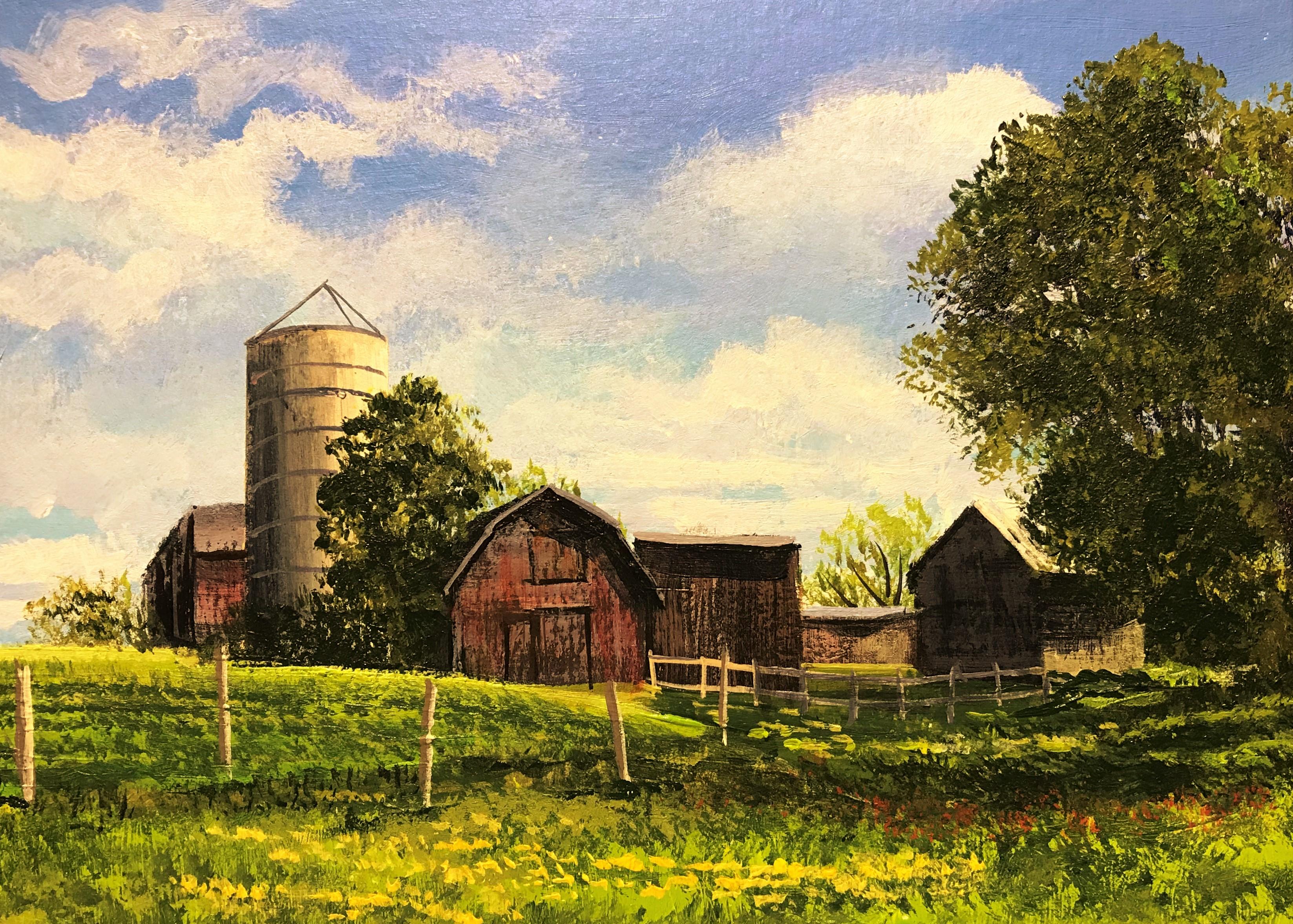 Vermont Farm in August