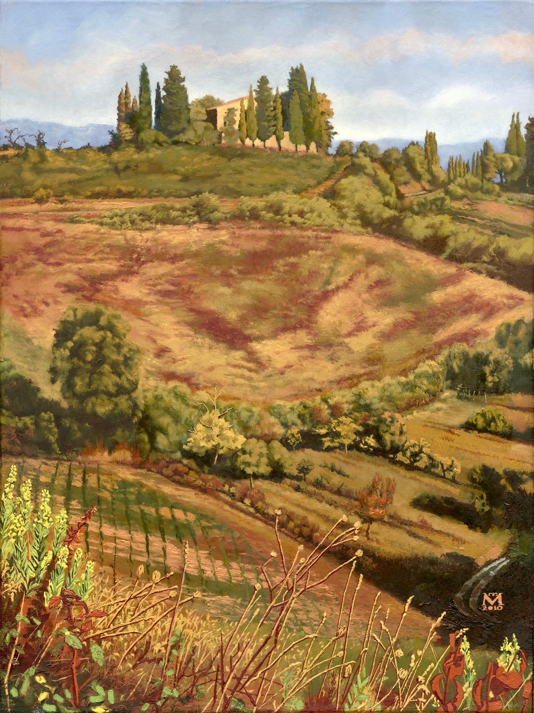 Colonial Farm House near San Gimignano