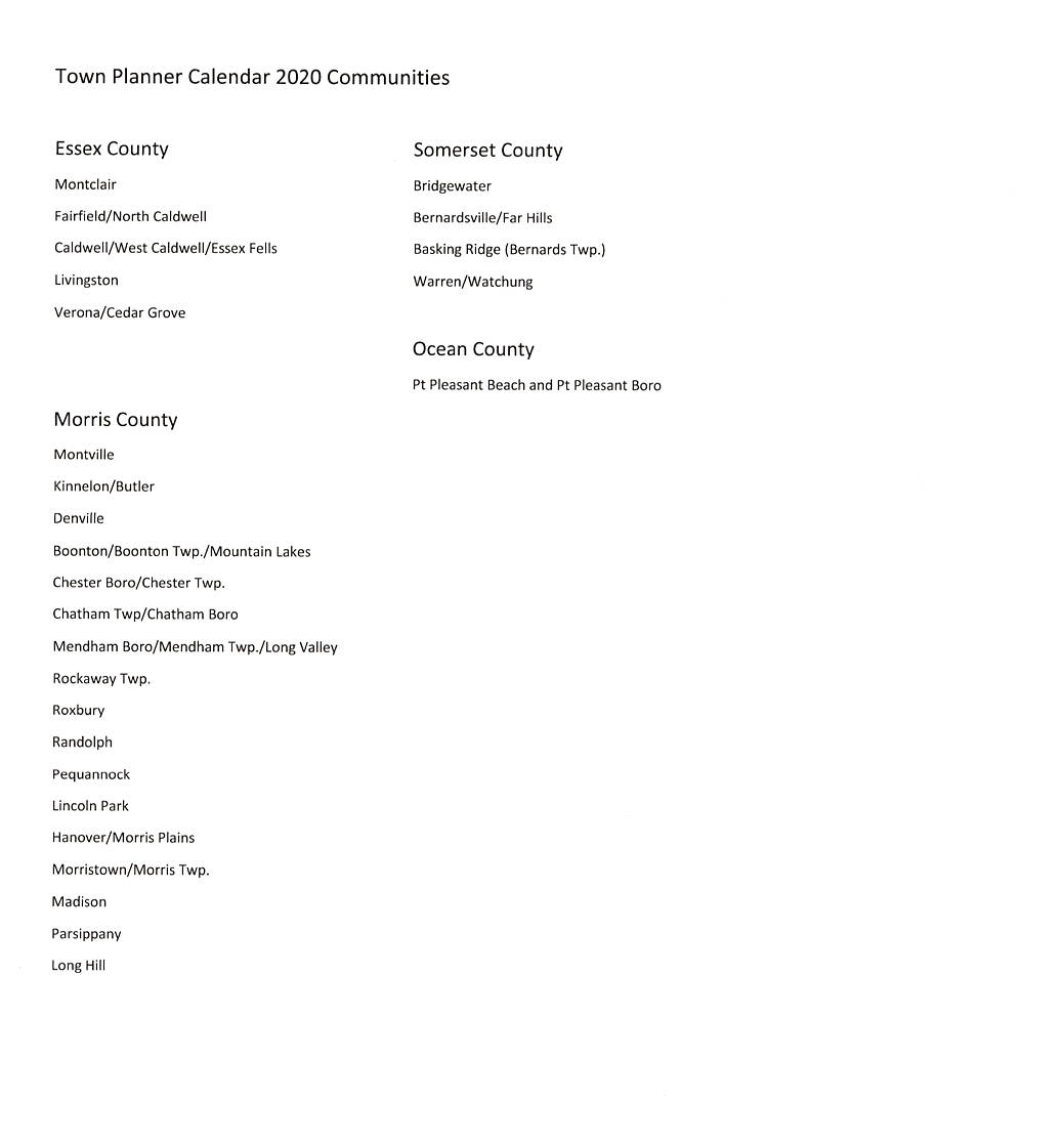 Click To See List Of Towns As Mentioned In Prospectus