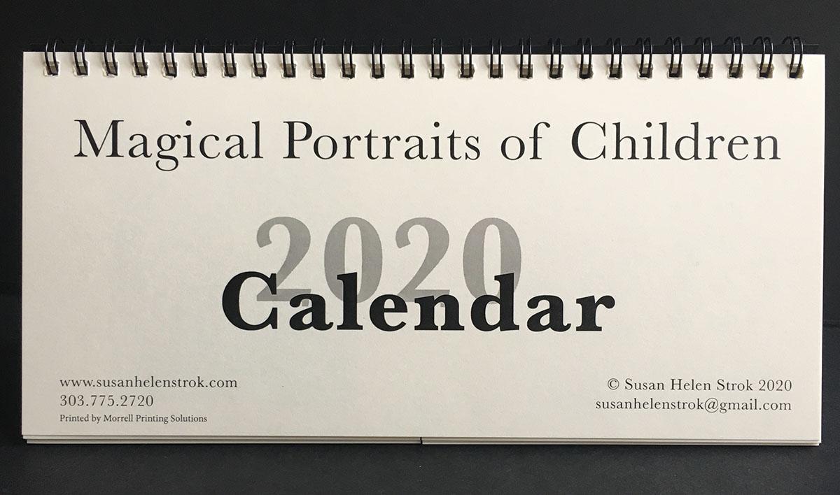 2020 Magical Portraits of Children Calendar