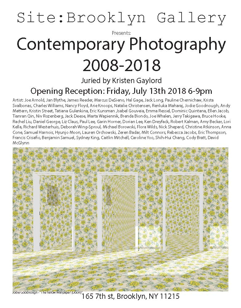 CONTEMPORARY PHOTOGRAPHY 2008-18
