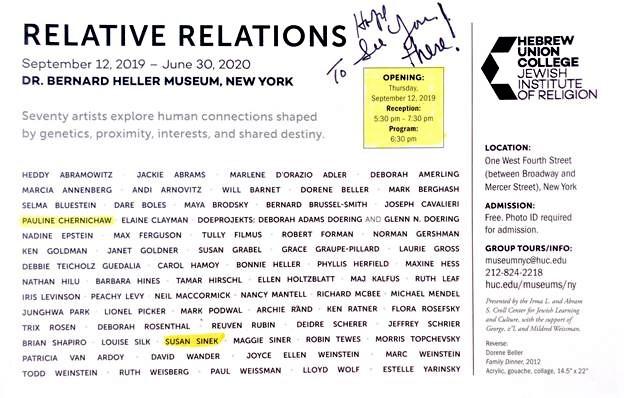 Relative Relations Invite