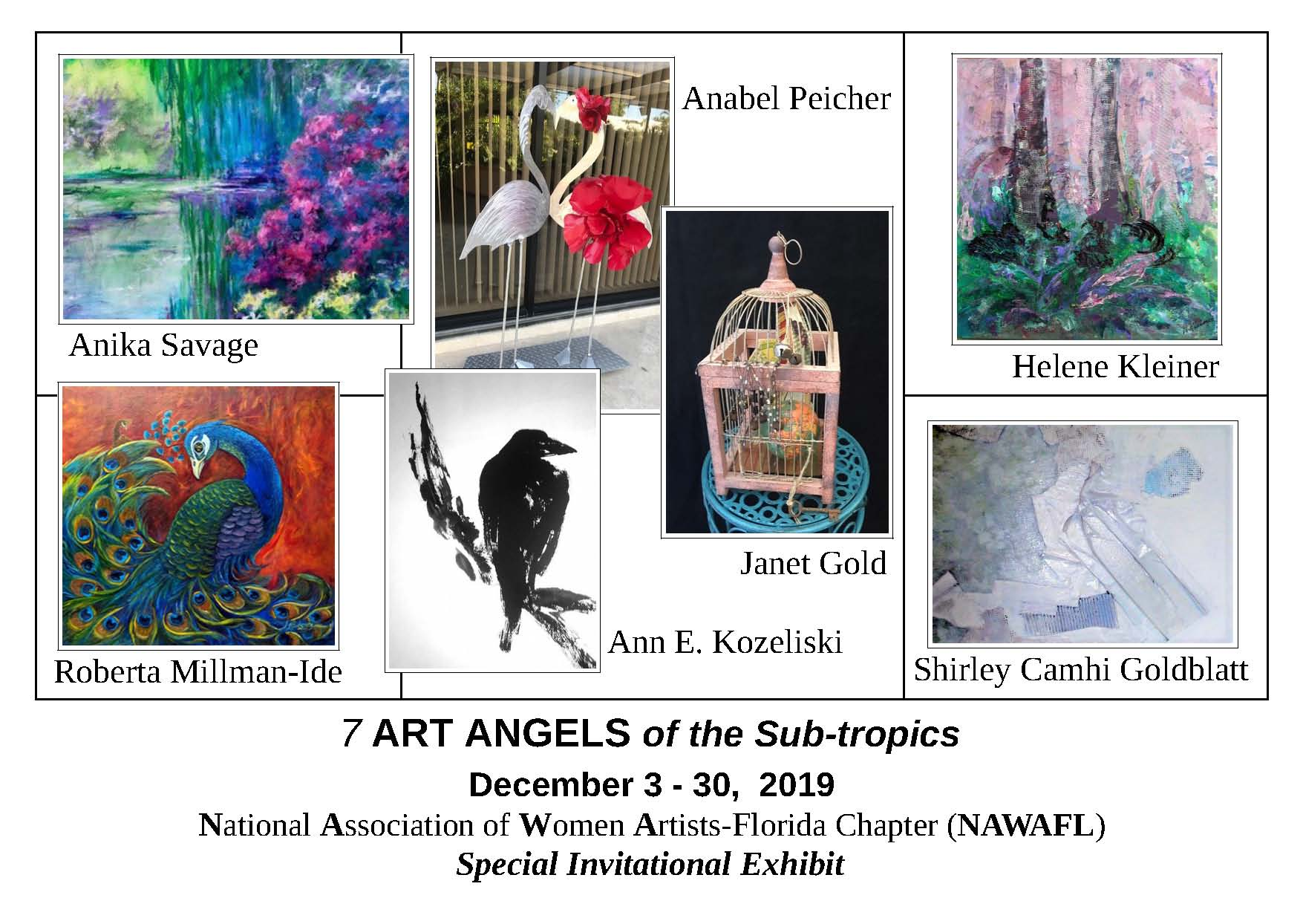 7 Art Angels of the Sub-Tropics