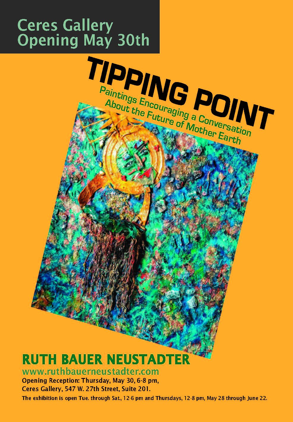 Tipping Point Solo Exhibit at Ceres
