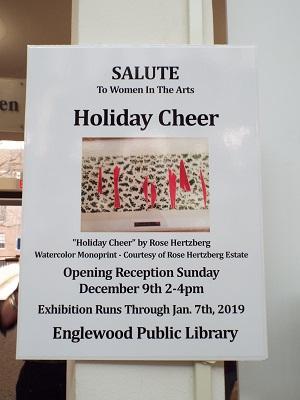 2018 Holiday Cheer at Englewood Library