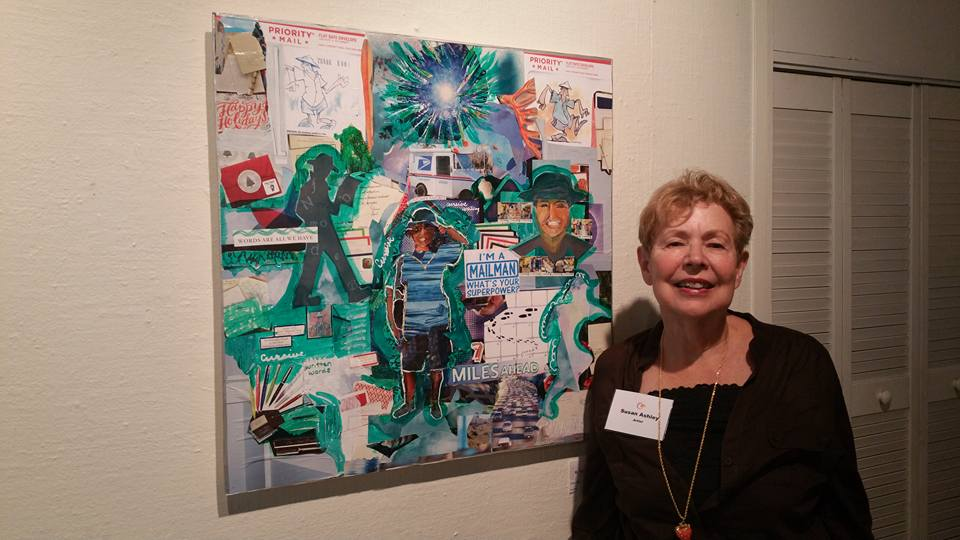 Susan at Gallery Art Exhibit